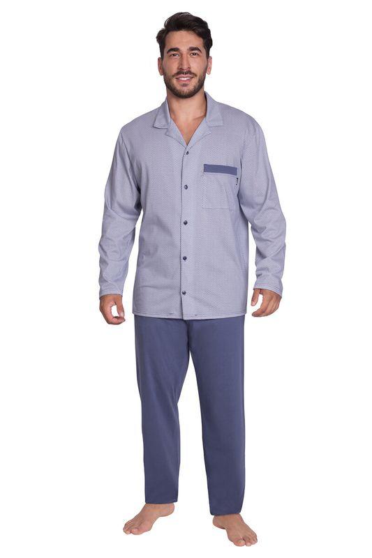 Pleas pánské pyžamo dlouhé 169361