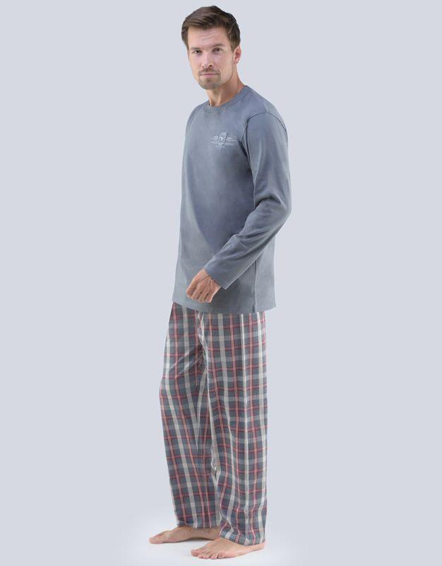 Gina pánské pyžamo dlouhé 79061